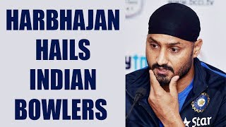Harbhajan Singh has hailed Indian bowlers performance against South Africa in the ICC Champions Trophy. Harbhajan said the bowlers' performance was a perfect...
