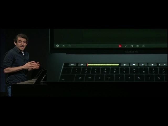 New Macbook Pro with TouchStrip - DJ's
