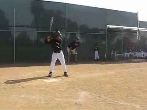 6 Year Old Kid Kameron Lopez First Home Run At LAYB