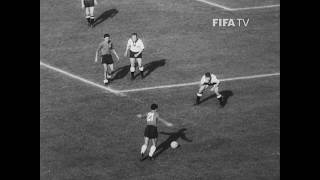 Highlights of the Group Stage match between Germany FR and Chile at the 1962 FIFA World Cup. Goals from Horst Szymaniak...