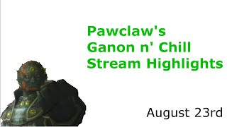 Pawclawshow's Ganon n' Chill Stream Highlights (RE-CUT) August 23rd | Smash 4 Wii U