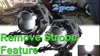 Video Remove 3 Function Strobe from CREE U5 Ebay Fog Running Lights MP3, 3GP, MP4, WEBM, AVI, FLV Desember 2018