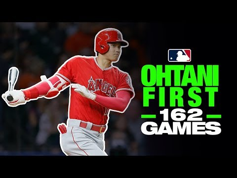 Video: Shohei Ohtani - First 162 games as a hitter!