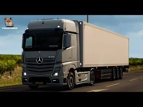 Real Mercedes Actros MP4 Open Pipe Sound