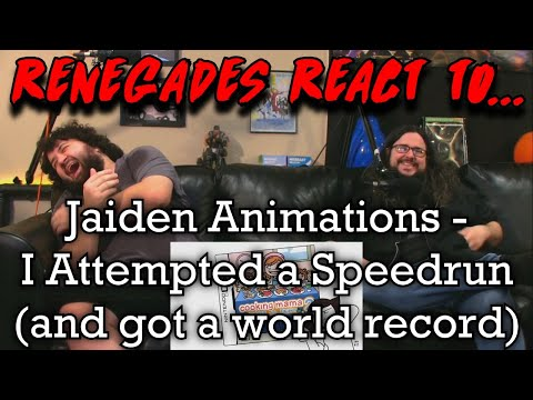 Renegades React to... @Jaiden Animations - I Attempted a Speedrun (and got a world record)
