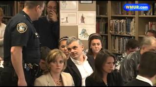 Police state: Man arrested at Gilford school board meeting