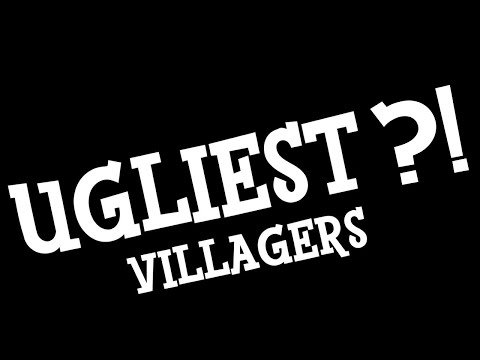 "Top 10 ""Ugliest"" Villagers Singing K.K. Sonata in Animal Crossing: New Horizons"