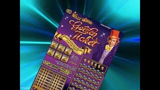 Scratching a $10 Willy Wonka Golden Ticket Texas Lottery Scratch Off Ticket. Will I find a big win? Stay tuned. Join me on Facebook: https://www.facebook.com/TexanCandy/    Fan Mail:Candy PO Box 241763San Antonio, TX 78224