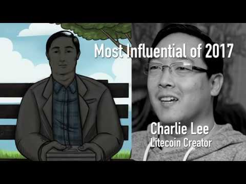 CoinDesk's Most Influential in Blockchain 2017  Charlie Lee video