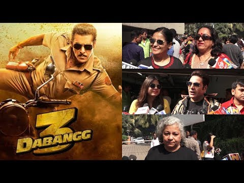Public Review For Film Dabangg 3