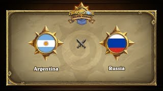 RUS vs ARG, game 1