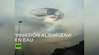 ¿Una invasión alienígena sobre los Emiratos Árabes Unidos?
