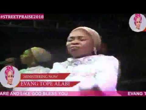TOPE ALABI AT THE 3RD STREET PRAISE Ft NATHANIEL BASSY And HER DAUGHTER AYO