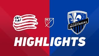 New England Revolution vs. Montreal Impact   HIGHLIGHTS - April 24, 2019 by Major League Soccer