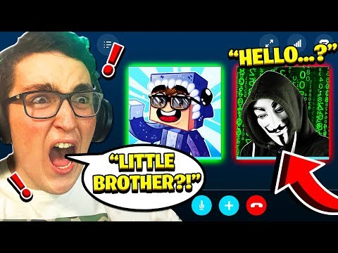 **EXPOSING** my LITTLE BROTHER for SELLING HACKS in MINECRAFT!