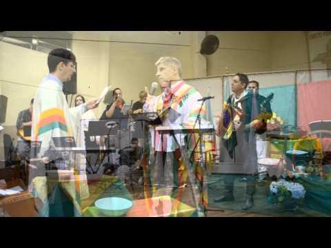 Culto missionáro gaúcho 2014 em Santa Rosa - Igreja Luterana