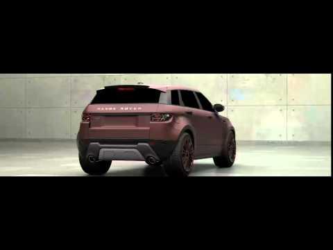 3D Тюнинг Range Rover Evoque 5 door 2012