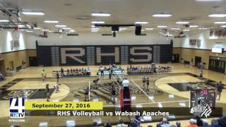 RHS Volleyball vs. Wabash Apaches