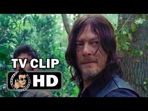 "THE WALKING DEAD S08E11 Official Clip ""Swamp Zombie"" (HD) AMC Horror Series"