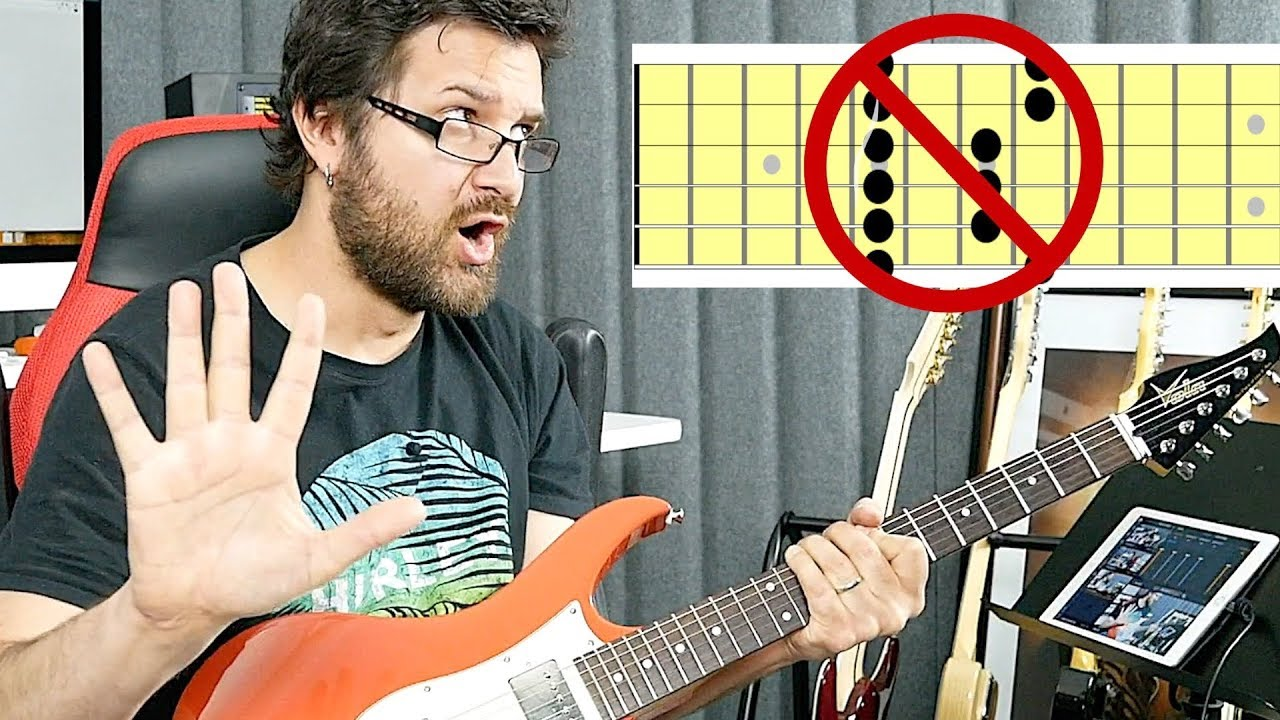 Different Way To Play Pentatonic Scales