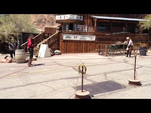 Calico Ghost Town Shootout Eyewitness View