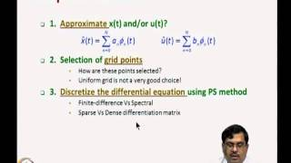 Mod-11 Lec-22 Transcription Method To Solve Optimal Control Problems