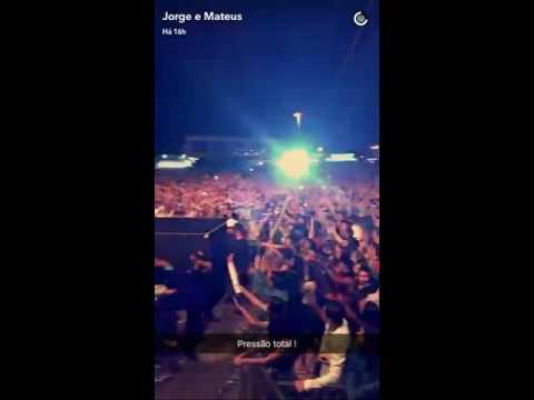Jorge e Mateus show em Palmeiras de Goiás