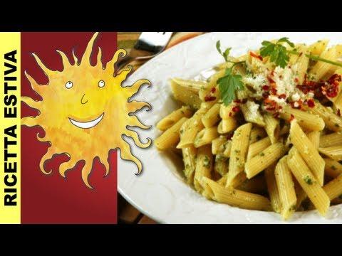 penne al pesto di pomodori secchi - ricetta siciliana