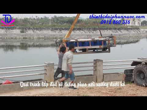 Thi công lắp đặt đài phun nước khu đô thị Dương Nội - Nam Cường