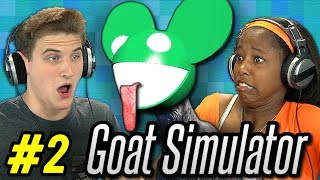 GOAT SIMULATOR #2 (Teens React: Gaming)