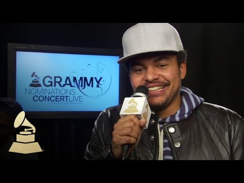 Alex da Kid Backstage at the 56th GRAMMY Awards Nominations Concert