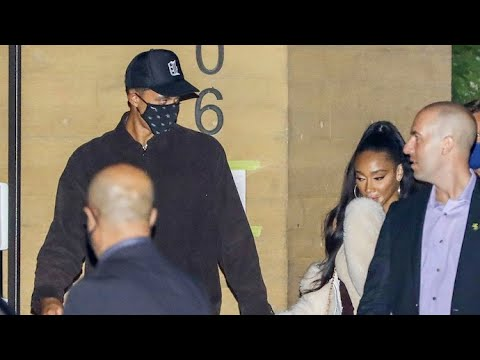 Winnie Harlow And Beau Kyle Kuzma Attend The Lakers Championship Dinner At Nobu