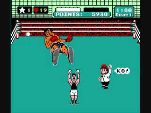 punch out nes king hippo