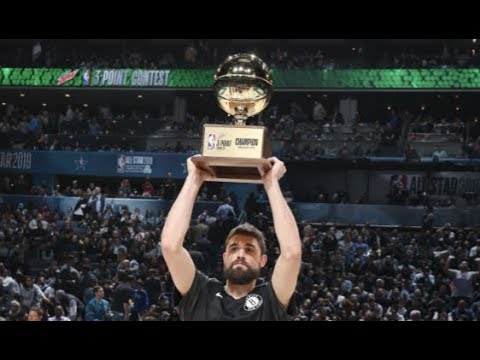 Video: Joe Harris' Full 3-PT Contest Performance | 2019 NBA All-Star