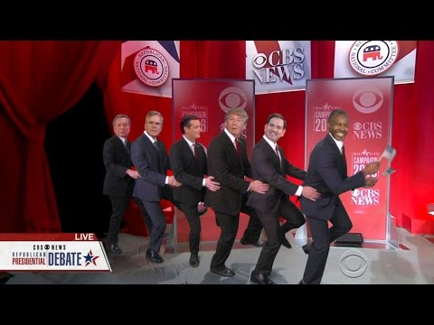 Presidential Candidate Conga Line