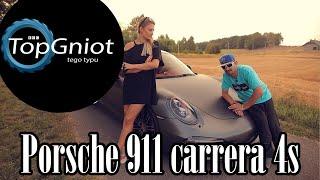 Blondyna i Tiger w Porsche 911. Nic dziwniejszego już dzisiaj nie zobaczysz