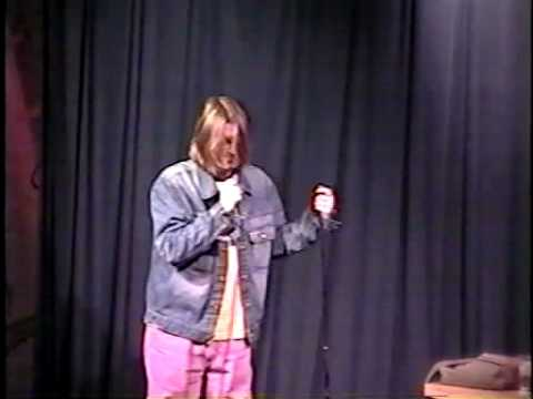 Mitch Hedberg talks about Mike Speenberg's comedy