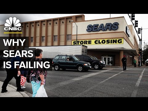 Sears Is Fighting For Its Life | CNBC (видео)