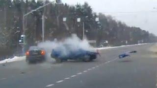 Подборка жестких аварий второй недели Января