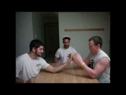 Reverse Arm Wrestle Funny Video Prank