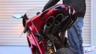 9. Extended Raw Sound Clip : Ducati 848 1098 1198 Toce Exhaust video by TST Industries