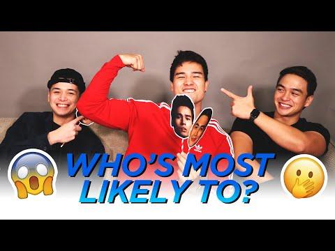 Who's most likely to (DAPAT DI KO PALA TO GINAWA) // Marco Gumabao