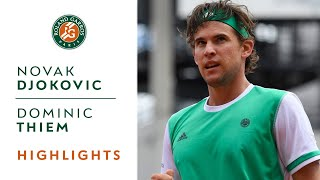 Djokovic Loses to Thiem Highlights - French Open 2017