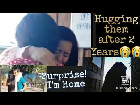 OFW Surprise Homecoming | Umiyak si Mommy | Thank you Rica and Fr. Fransis