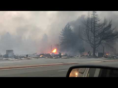 Driving Through Paradise, CA 11/8/2018 Camp Fire