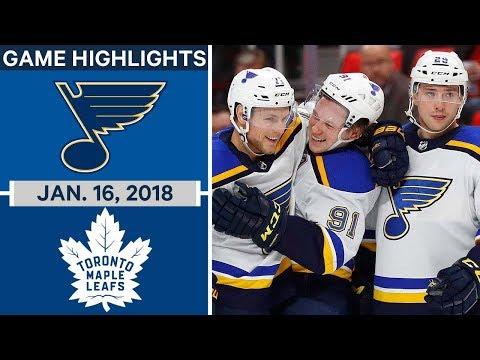 Video: Dunn scores OT winner as Blues rally past Maple Leafs