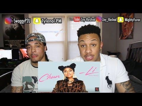 Nicki Minaj - Chun Li Reaction Video