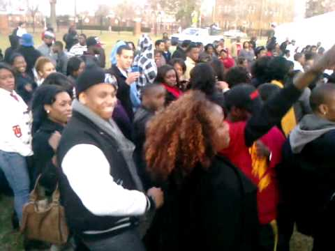 ACCALkid - Tristan Wilds from 90210 and Elijah Kelley from Hairspray at Tuskegee University (TU) January 14th, 2012 during RED TAILS TUSKEGEE TAKEOVER. THIS IS THE OFFI...