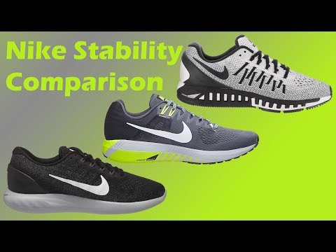 Nike Stability Shoes Compared