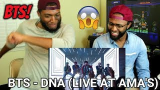 Video BTS - DNA (Live at the AMA's 2017) (REACTION) MP3, 3GP, MP4, WEBM, AVI, FLV Januari 2018